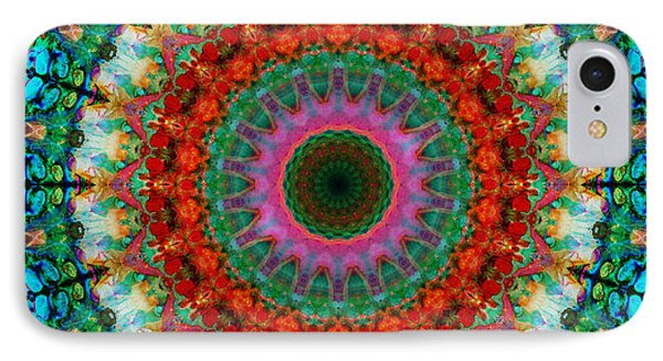 Deep Love - Mandala Art By Sharon Cummings IPhone Case