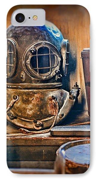 Deep Sea Diver IPhone Case by Paul Ward