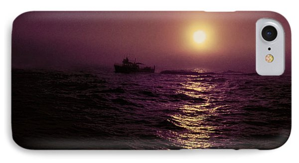 Deep Sea Fishing Off West Port Wa II IPhone Case