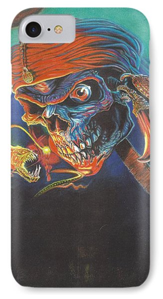 Deep Skull IPhone Case by Jimmy Graves