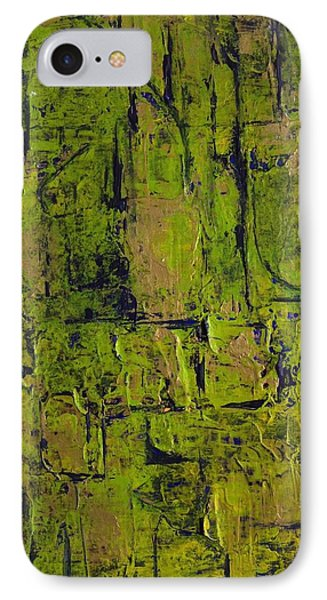Deep South Summer Coming On - Panel II - The Green Phone Case by Sandra Gail Teichmann-Hillesheim