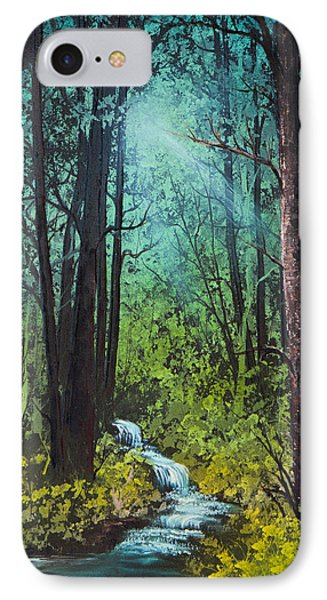 Deep Woods Stream IPhone Case by C Steele