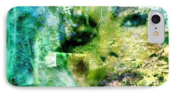 IPhone Case featuring the digital art Deep Woods Wanderings by Seth Weaver