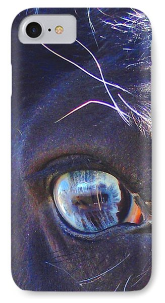 Deeper Into Ojo Sarco IPhone Case by Anastasia Savage Ealy