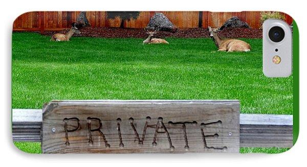 Deer At Rest IPhone Case