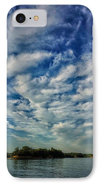 IPhone Case featuring the photograph Deer Creek Lake And Clouds by Beth Akerman