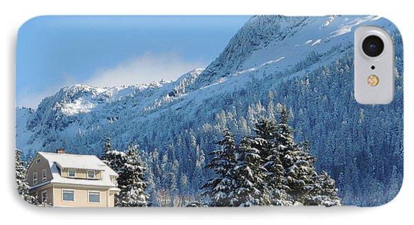 Deer Mt. Winter IPhone Case by Karen Horn