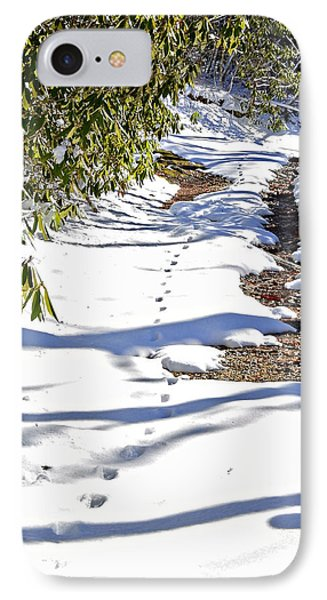 Deer Trail Phone Case by Susan Leggett