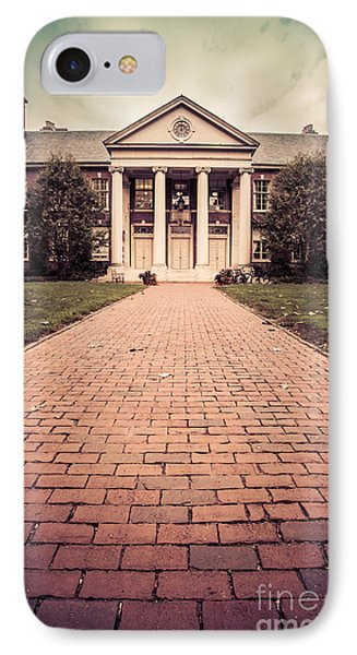 Deerfield Academy IPhone Case by Edward Fielding
