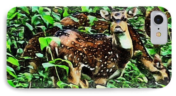Deer's Green Day IPhone Case