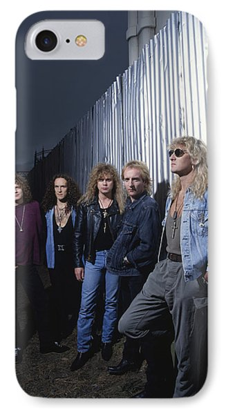 Def Leppard - Adrenalize Me 1992 IPhone Case by Epic Rights