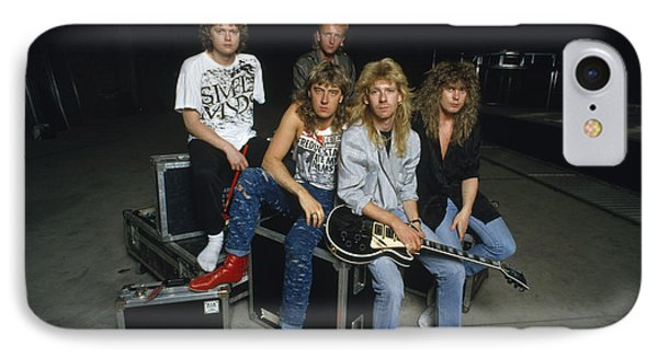 Def Leppard - Equipment & Gear 1987 IPhone Case by Epic Rights