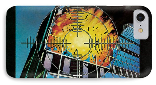 Def Leppard - Pyromania 1983 IPhone 7 Case by Epic Rights
