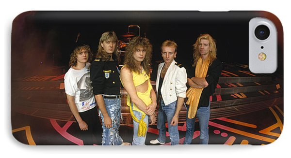 Def Leppard - Round Stage 1987 IPhone 7 Case by Epic Rights
