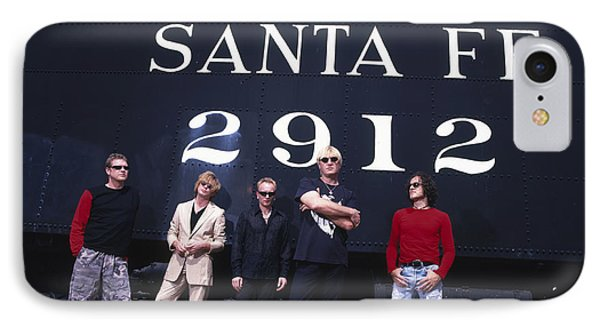 Def Leppard - Santa Fe 1999 IPhone Case by Epic Rights
