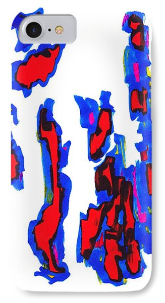 Definism Design 73 IPhone Case by Darrell Black