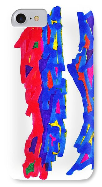 Definism Design 74 IPhone Case by Darrell Black