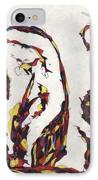 Definism Design 87 IPhone Case by Darrell Black