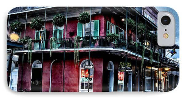 Deja Vu - Bourbon Street Phone Case by Bill Cannon