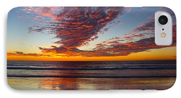Del Mar Sunset 14 IPhone Case by Randy Bayne