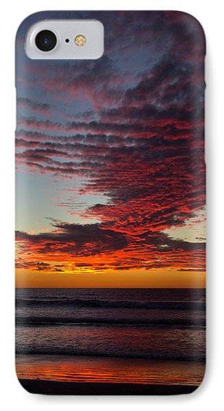 Del Mar Sunset 16 IPhone Case by Randy Bayne