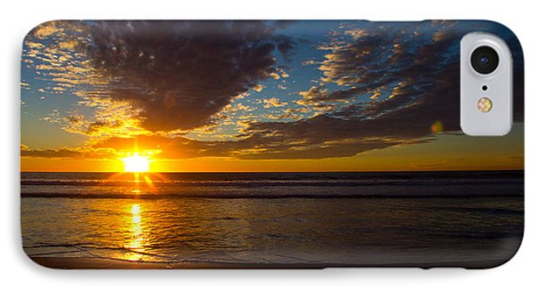 Del Mar Sunset 7 IPhone Case by Randy Bayne