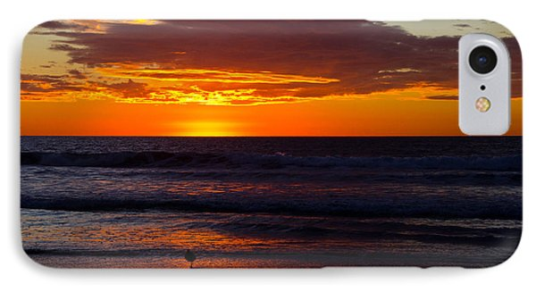 Del Mar Sunset Phone Case by Randy Bayne