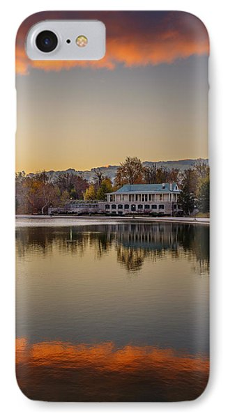 Delaware Park Marcy Casino Autumn Sunrise IPhone Case