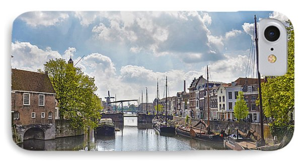 IPhone Case featuring the photograph Delfshaven Rotterdam by Frans Blok