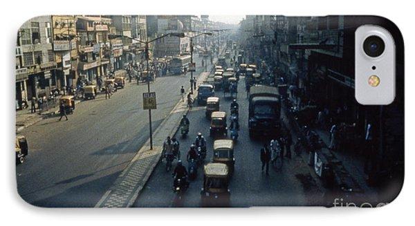 Delhi In The Daylight Phone Case by Scott Shaw