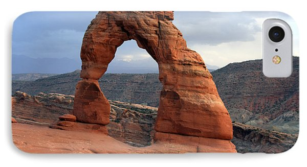Delicate Arch - Arches National Park - Utah IPhone Case by Aidan Moran