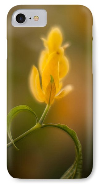 Delicate Fountain Of Gold Phone Case by Mike Reid