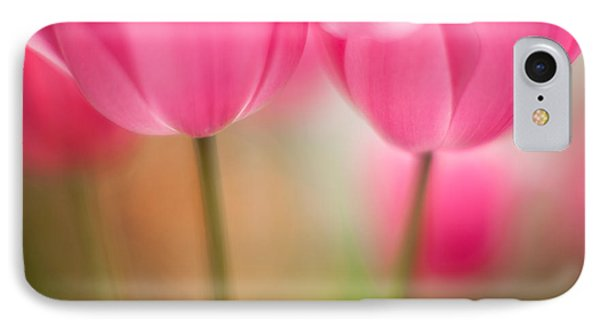 Delicate Light Of Spring Phone Case by Mike Reid