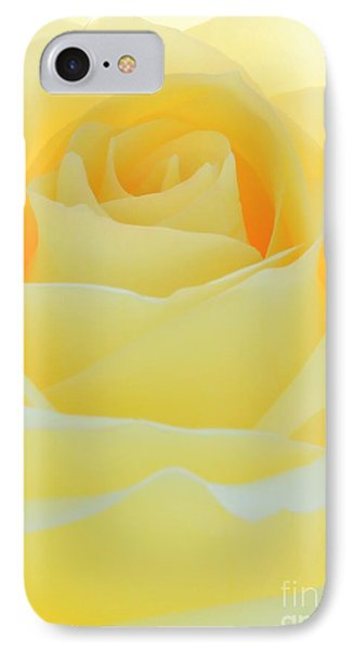 Delicate Yellow Rose Phone Case by Sabrina L Ryan