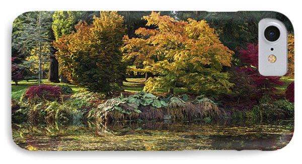 Delicious Autumn - Autumn Art IPhone Case by Jordan Blackstone