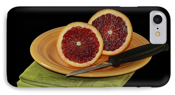 Delicious Juicy Blood Oranges Phone Case by Inspired Nature Photography Fine Art Photography