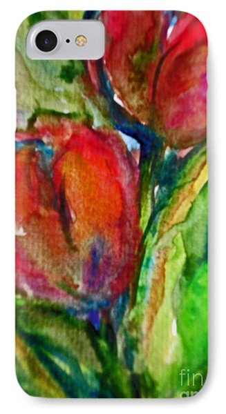 Delicious Tulips IPhone Case by Jessamine Barron