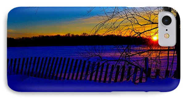 Delight Behind The Fence IPhone Case by Zafer Gurel