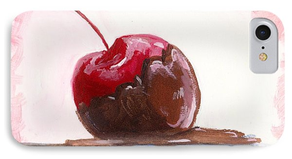 Delightfully Delectable 3 Cherry IPhone Case