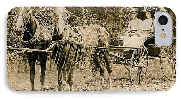 Delivering The Mail 1907 Phone Case by Floyd Russell