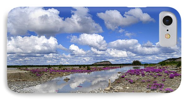 IPhone Case featuring the photograph Delta Junction Summer by Cathy Mahnke