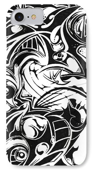 Delusion Phone Case by Kyle Walker
