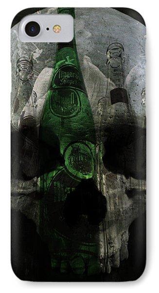 Demons In Bottles  IPhone Case by Empty Wall