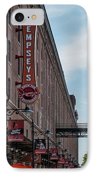 Dempseys Brew Pub IPhone Case by Susan Candelario