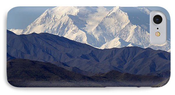Denali And Foothilld IPhone Case by Elvira Butler