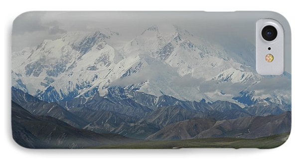 IPhone Case featuring the photograph Denali by Karen Molenaar Terrell