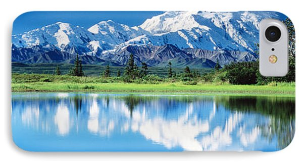 Denali National Park Ak Usa IPhone Case by Panoramic Images