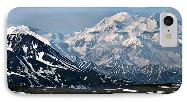 IPhone Case featuring the photograph Denali National Park Panorama by John Haldane
