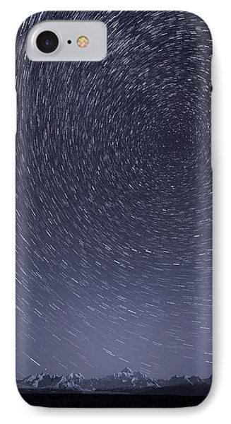 Denali Star Trails IPhone Case by Roger Clifford