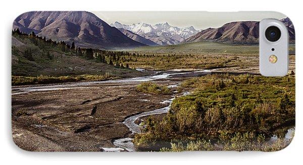 Denali Toklat River IPhone Case by Penny Lisowski